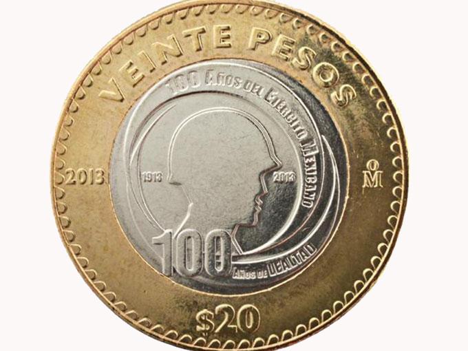 Banxico y la Sedena presentan una nueva moneda de $ 20 pesos