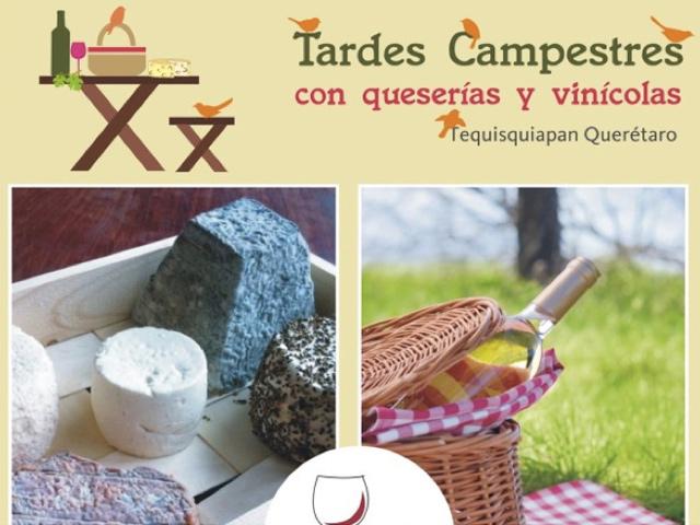 Tardes Campestres 2013 en Tequisquiapan con queserías y vinícolas