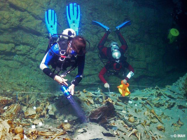 INAH establece reglamentación para preservar cuevas y cenotes