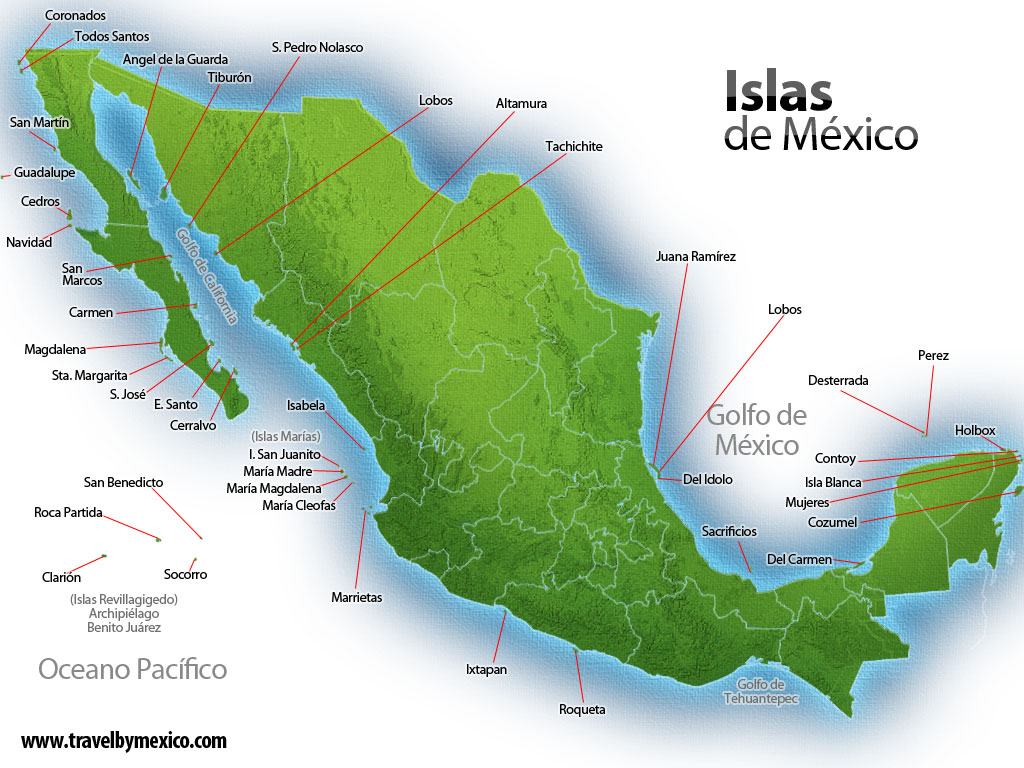 Composición del Territorio Insular Mexicano