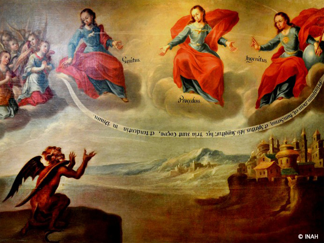 El MURESM exhibe iconografía insólita de la Santa Trinidad