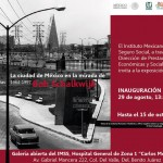 Cartel oficial expo La Ciudad de México bajo la mirada de Bob Schalkwijk