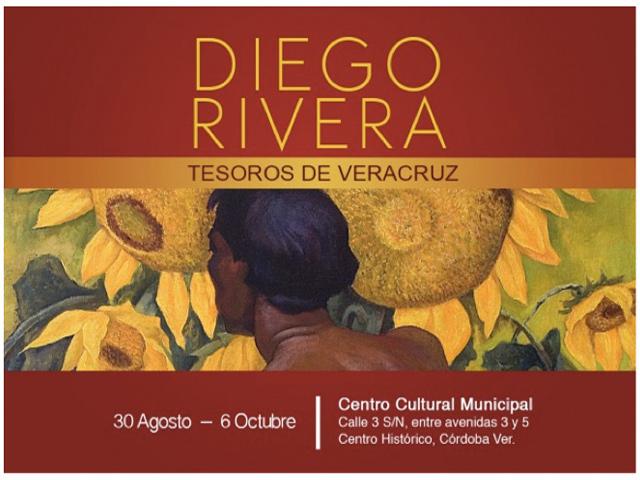 """""""Diego Rivera, Tesoros de Veracruz"""" llegó a Córdoba"""