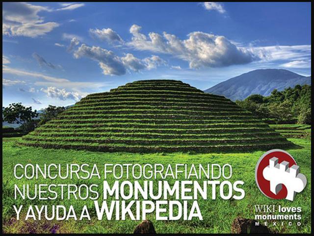 """Saca tu cámara y participa al """"Wiki Loves Monuments México"""""""