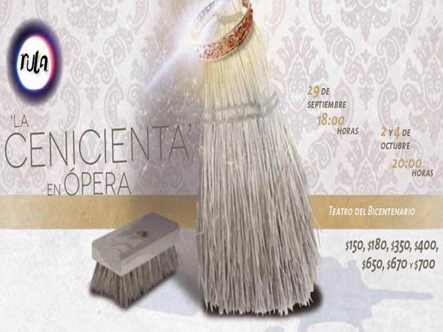 La Cenicienta de Rossini, ópera cómica en el Teatro del Bicentenario
