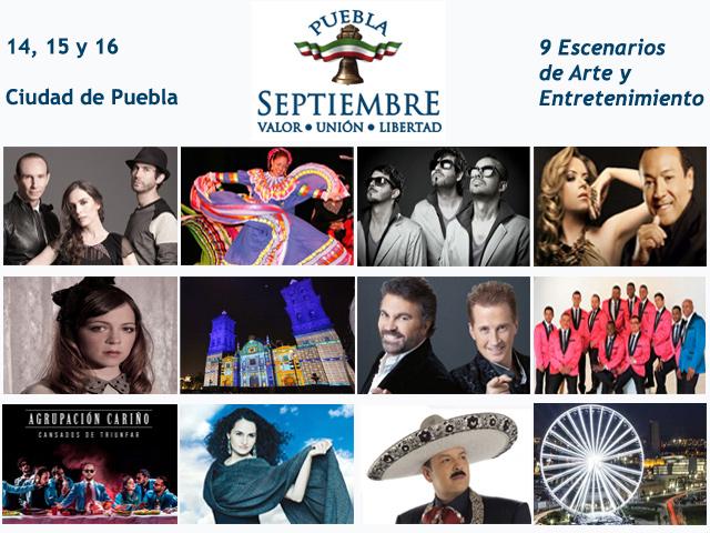 Fiestas Patrias 2013 en Puebla: 9 escenarios de Arte y Entretenimiento