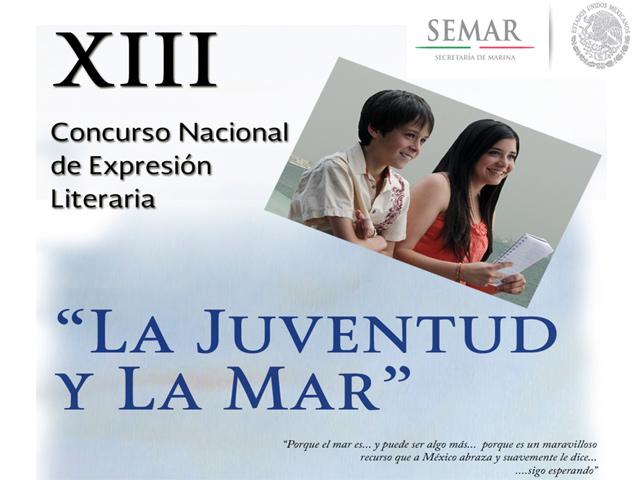 """XIII Concurso Nacional de Expresión Literaria """"La Juventud y la Mar"""""""
