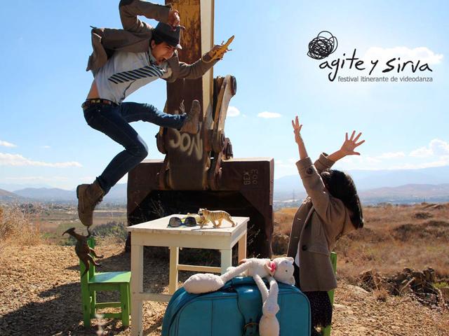 5° Festival Itinerante de Videodanza: Agite y sirva