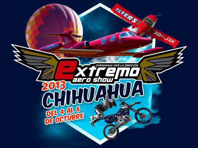 Programa de eventos Extremo Aero Show Chihuahua 2013