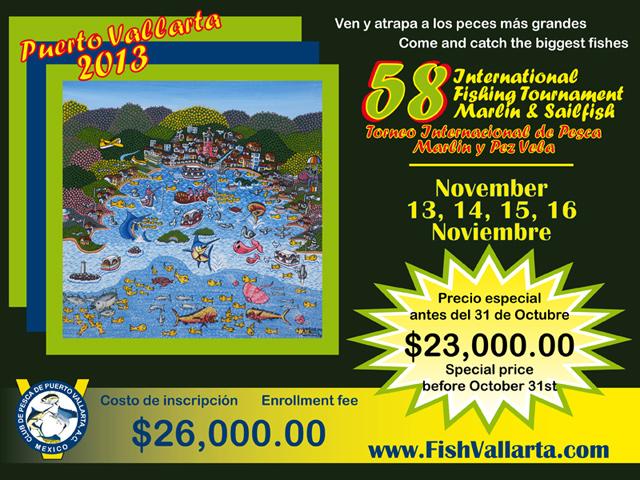 58 Torneo Internacional de Marlin y Pez Vela Puerto Vallarta 2013