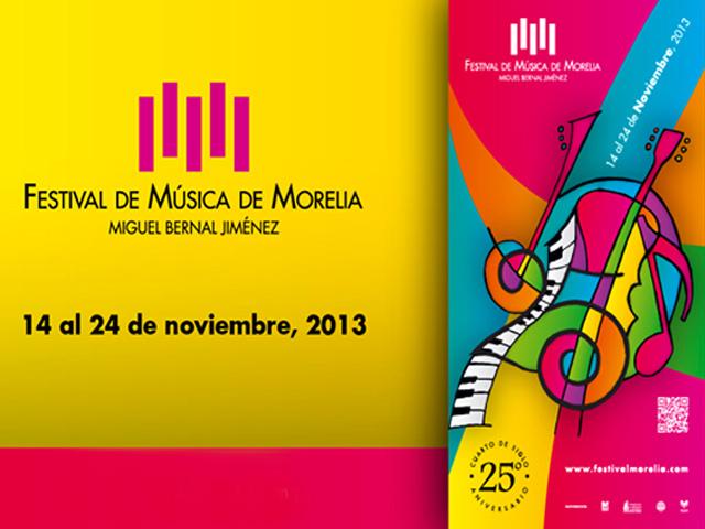 Programa del XXV Festival de Música de Morelia 2013