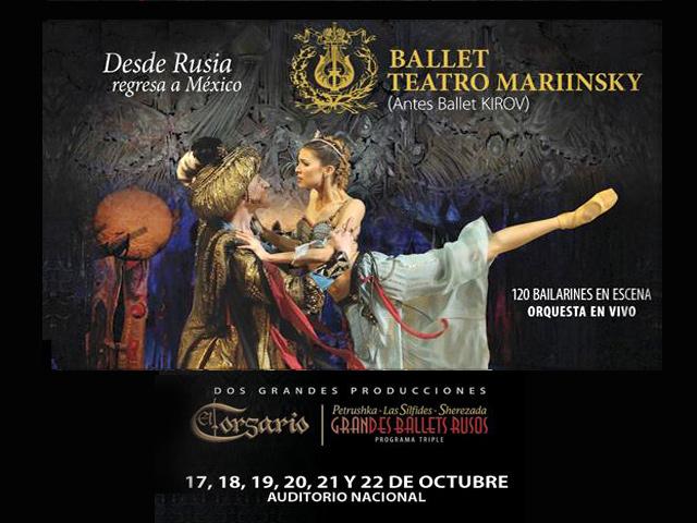 Ballet del Teatro Mariinsky trae su magia al Auditorio Nacional