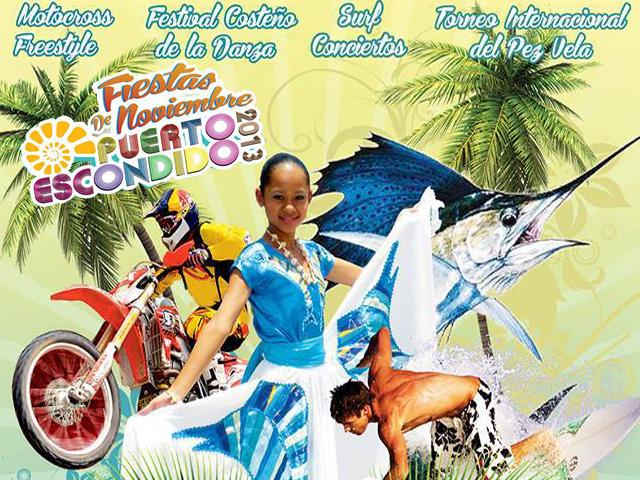 Fiestas de Noviembre 2013 en Puerto Escondido