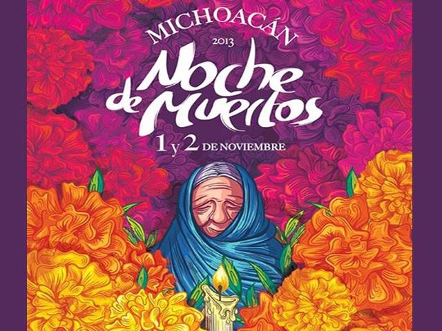 Noche de Muertos 2013 en Michoacán