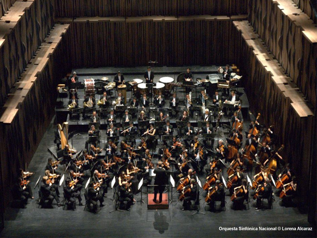 Orquesta Sinfónica Nacional/ 41º FIC en el Teatro del Bicentenario