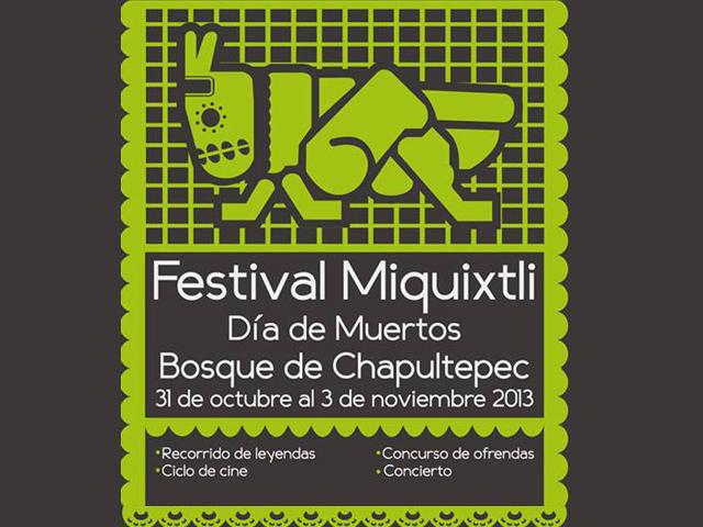 Festival Miquixtli Día de Muertos 2013 en Chapultepec