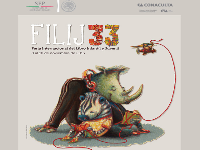 Feria Internacional del Libro Infantil y Juvenil 2013 en México