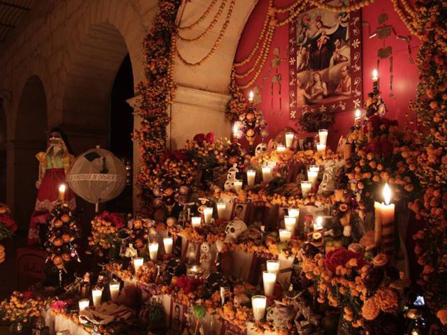 Los elementos de un Altar de Muertos