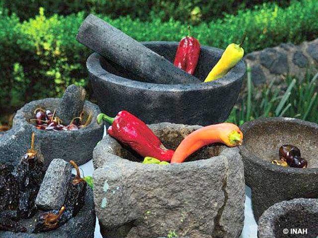El molcajete, símbolo de la gastronomía mexicana