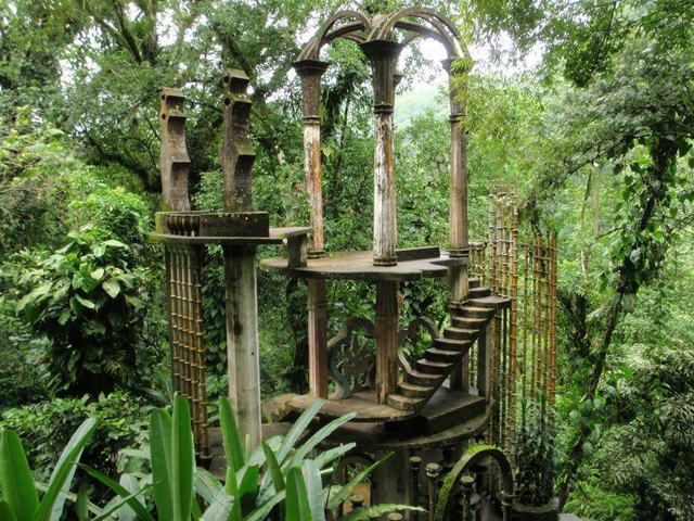 El jard n surrealista de sir edward james en xilitla for Jardin xilitla