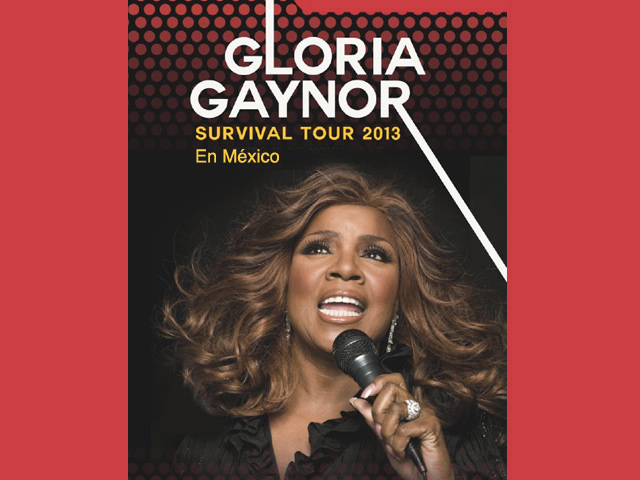 Gloria Gaynor: Survival Tour 2013 en México
