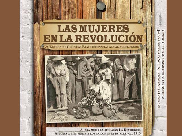 Coyoacán recuerda el papel de las mujeres durante la Revolución