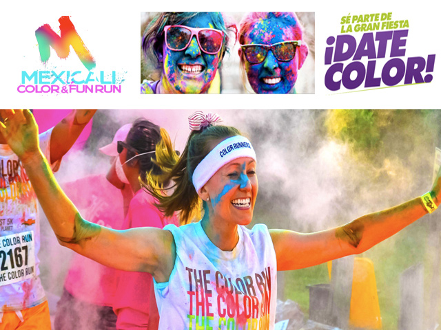 Mexicali Color & Fun Run: la carrera de color más divertida