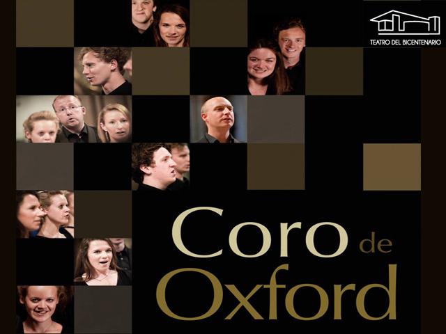 El Coro de Oxford ofrecerá un único concierto en el Teatro del Bicentenario