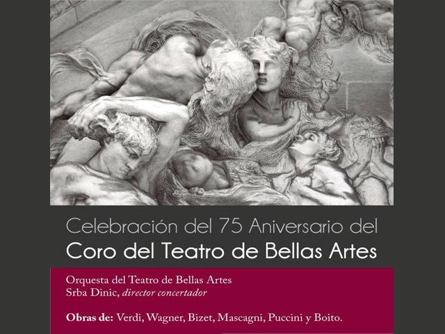 Gala 75 Aniversario del Coro del Teatro de Bellas Artes