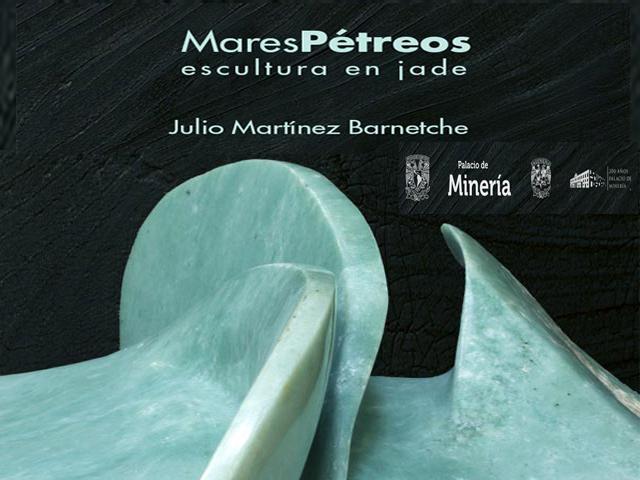 Exposición 'Mares Pétreos, escultura en jade' en el Palacio de Minería
