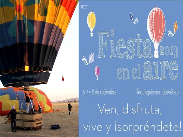 Programa de eventos del Festival del Globo 2013 en Tequisquiapan