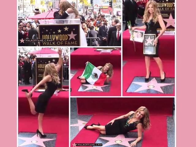 Thalia: primera estrella mexicana en el Paseo de la Fama de Hollywood