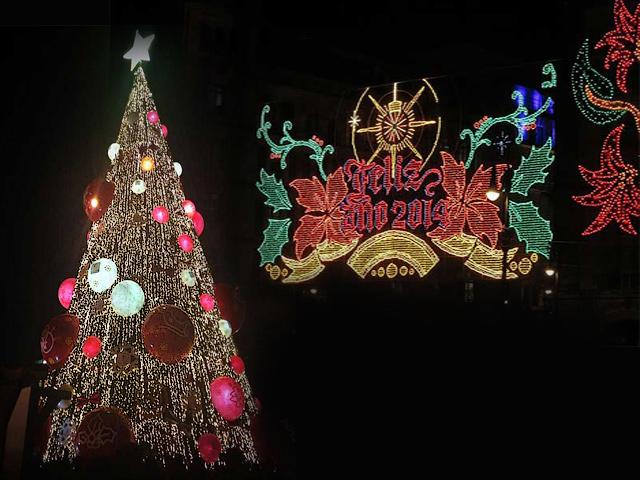 Llegó la Magia de la Navidad 2013 en el Zócalo de México