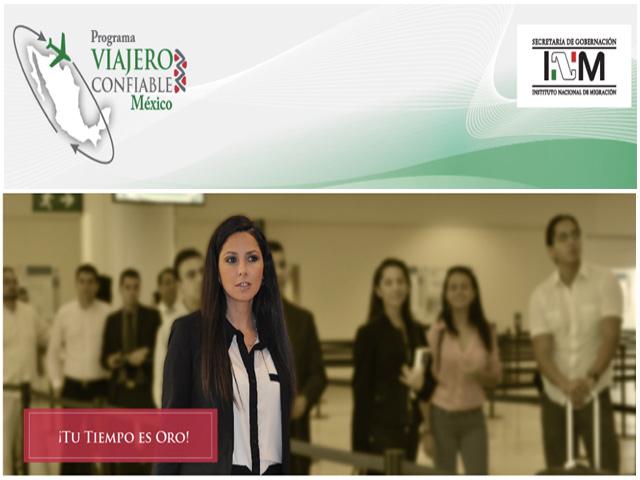 Gobierno de México pone en marcha el Programa Viajero Confiable