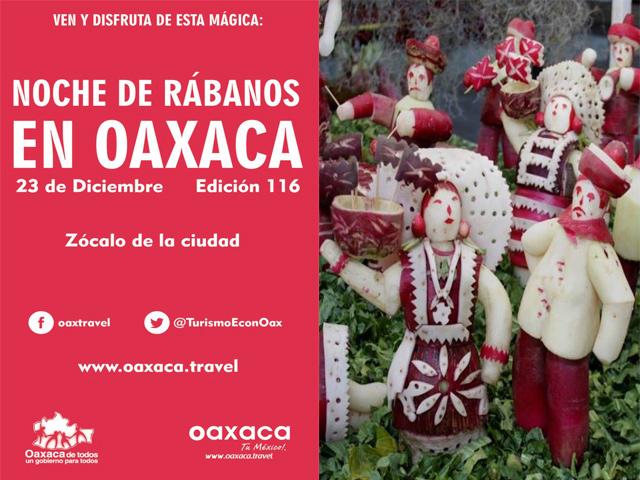 116 Noche de Rábanos, 23 de diciembre 2013 en Oaxaca
