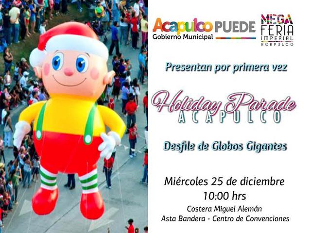 Acapulco se alista para el World Holiday Parade Tour Acapulco 2013
