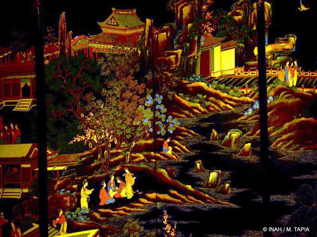 La Sala de China, espacio renovado del Museo Nacional de las Culturas
