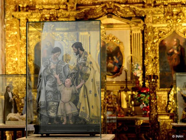 Museo de El Carmen en San Ángel exhibe Nacimientos Mexicanos