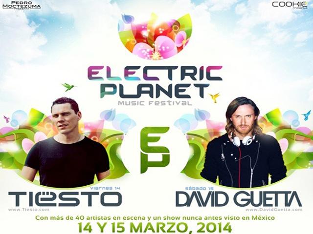 Tiësto y David Guetta encabezarán el Electric Planet 2014 en México