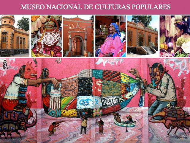 Museo Nacional de Culturas Populares de México, en Coyoacán
