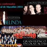 Conciertos de Sasha, Benny y Erik, Belinda, Banda El Recodo, Banda Los Recoditos
