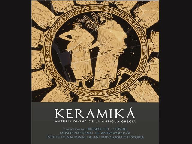 Llegan a México piezas de la Antigua Grecia procedentes del Museo del Louvre
