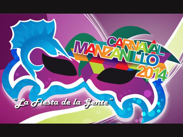 Programa de eventos del Carnaval de Manzanillo 2014