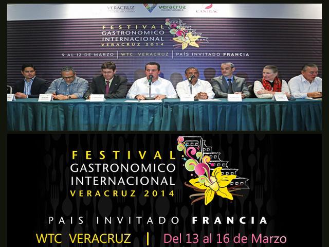 Festival Gastronómico Internacional Veracruz 2014 invitará a Francia