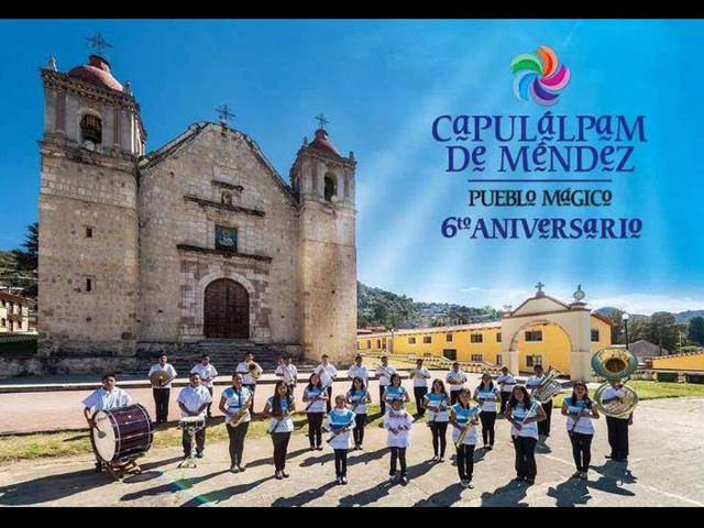 Capulálpam de Méndez, 6to. Aniversario de ser Pueblo Mágico