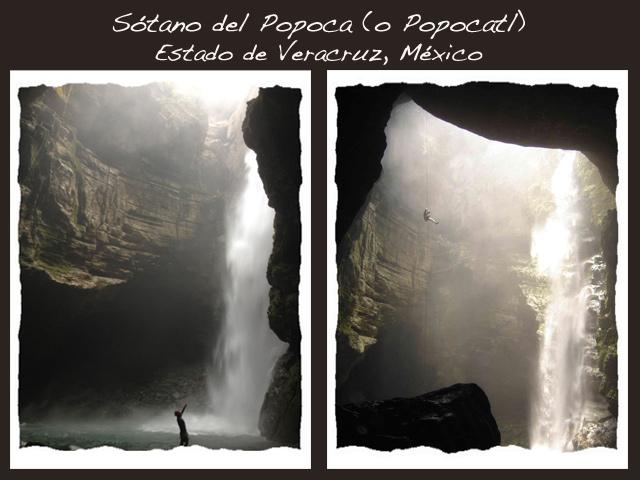 Sótano y cascada del Popocatl: maravillas naturales en Veracruz