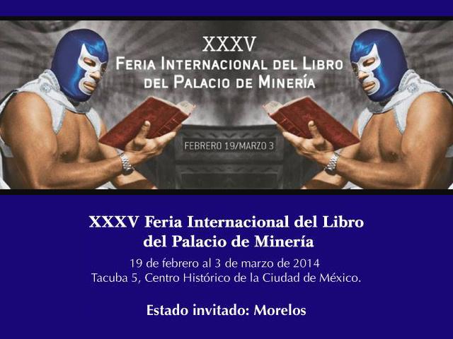 Programa de la Feria Internacional del Libro del Palacio de Minería 2014