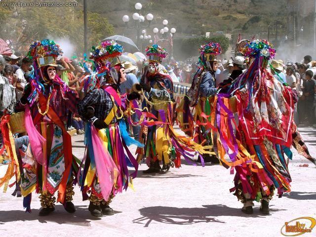Carnaval Zoque Coiteco 2014 en Chiapas