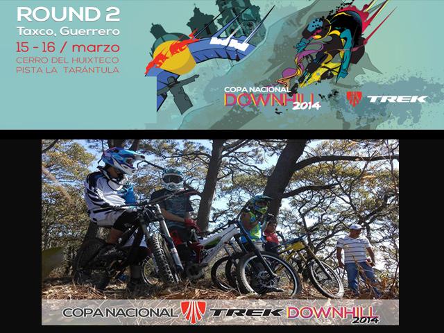 Segundo Round de la Copa Nacional de Downhill Taxco 2014