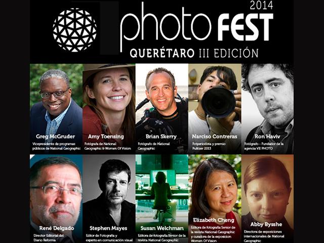 Festival Photo Fest 2014 'El poder de la fotografía' en Querétaro